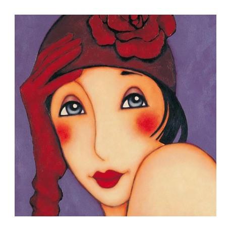 Carte postale Corinne Reignier agatha