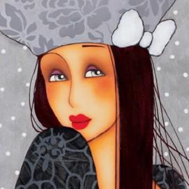 Carte postale Corinne Reignier sasha