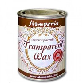 Cire Transparent Wax 125ml Stamperia