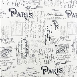 Papier italien motifs écritures paris