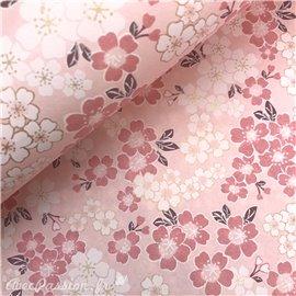 Papier japonais washi lotus rose By Taniguchi