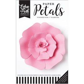 Fleurs Echo Park rose rose en papier 17cm 1p