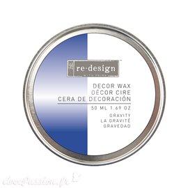Wax paste ReDesign métallique bleu