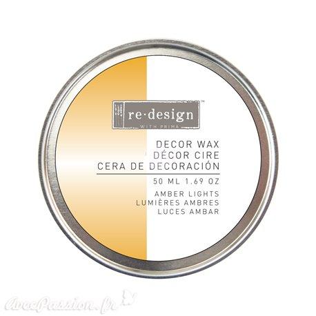Wax paste ReDesign métallique jaune doré