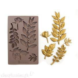 Moule Prima ReDesign en silicone flexible Leafy Blossoms
