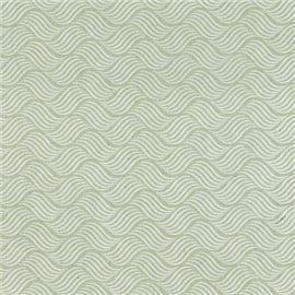 Papier népalais lokta river vert d'eau et blanc