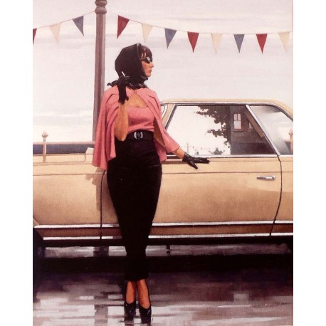 Carte postale Vettriano suddenly one summer
