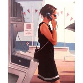 Carte postale Vettriano her secret life