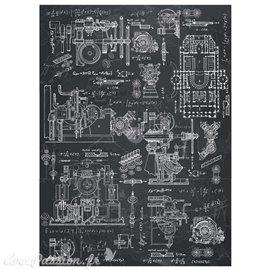 Transfert décor Redesign Prima marketing Industrial Mechanics