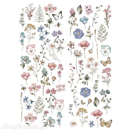 Transfert décor Redesign Prima marketing Delicate Fleur