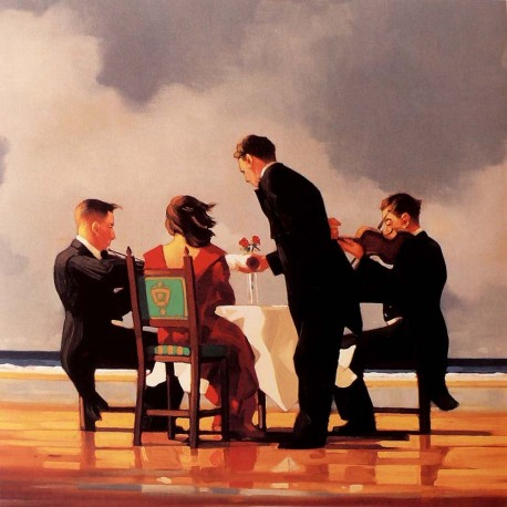 Carte postale Vettriano elegy for the dead admiral
