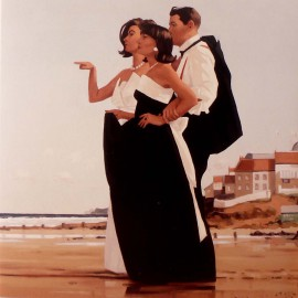 Carte postale Vettriano the missing man II