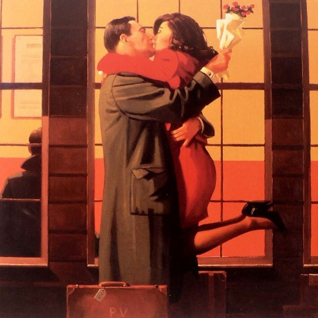Carte postale Vettriano back where you belong