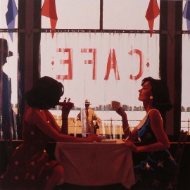 Carte postale Vettriano cafe days