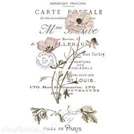 Transfert pelliculable Redesign Prima marketing décor Carte postale