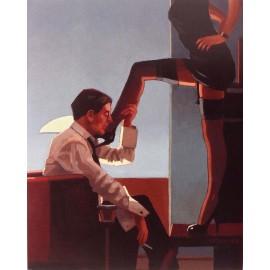 Carte postale Vettriano night calls II