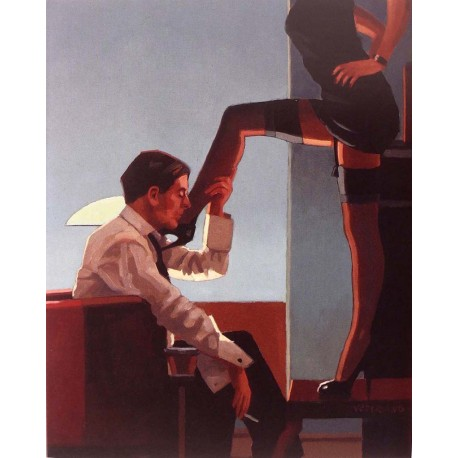 Carte postale Vettriano night calls II