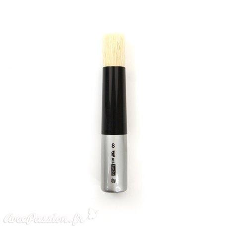 Pinceau pochoir Prima Marketing Art Basics Dabbing Brush médium 2cm