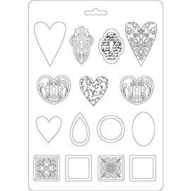 Moule décoratif thermoformé Stamperia stampo bijoux