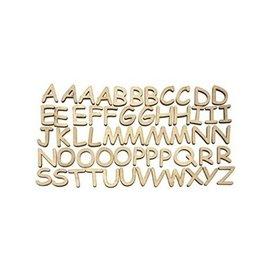 Embellissements en bois Lettres majuscules à décorer