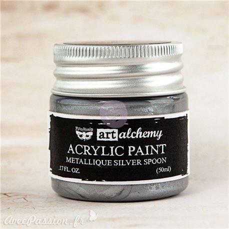 Peinture acrylique métallique art alchemy Prima Finnabair