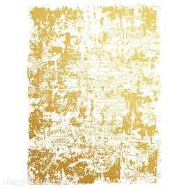 Transfert pelliculable Redesign Prima marketing décor gilded distressed doré