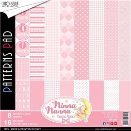 Papier scrapbooking assortiment Ciao Bella ninna nanna12fe 30x30