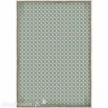 Papier de riz imprimé Stamperia A3