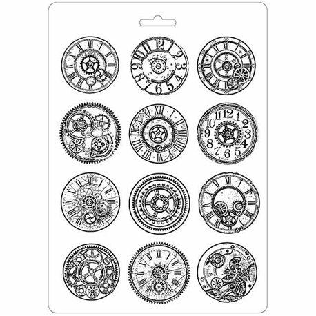 Moule décoratif thermoformé Stamperia mécanisme stampo
