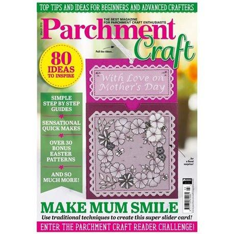 Parchment Craft magazine Pergamano mars 2019 It Must be Love !