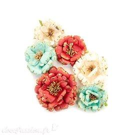 Fleurs Prima Marketing Midnight Garden Flowers Pretty In Rouge