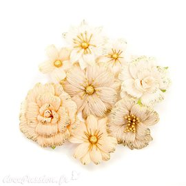 Fleurs Prima Marketing Pretty Pale Flowers Honeycomb