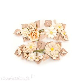 Fleurs Prima Marketing Pretty Pale Flowers Rustic Floral