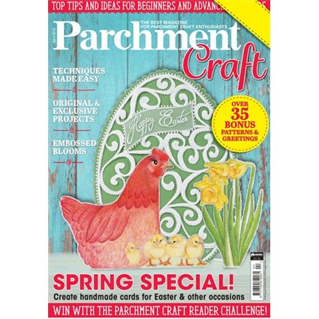Parchment Craft magazine Pergamano avril 2019 Spring Special !