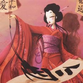 Carte postale Misstigri Le pouvoir de Kimiko