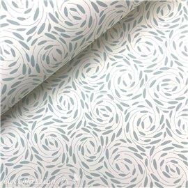 Papier italien motifs tourbillon bleu tiffany harmony