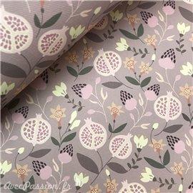 Papier italien motifs fruits melograno