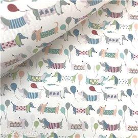 Papier italien motifs chien doggy