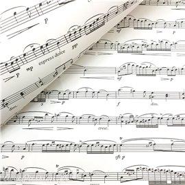 Papier italien motifs partition de musique