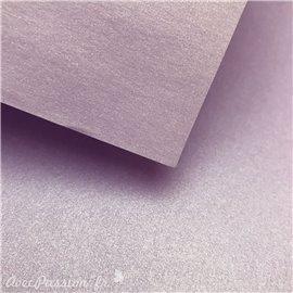Papier fantaisie métallisé brillant améthyste