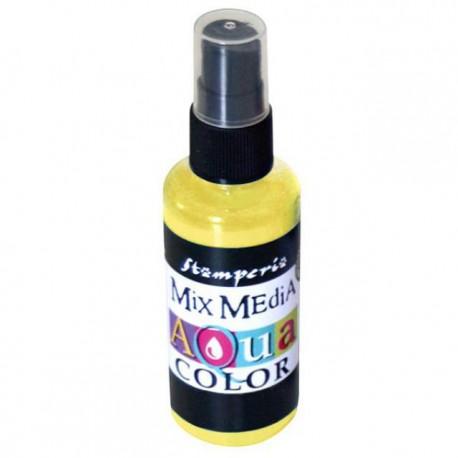 Encre en spray Mix Media Aqua color jaune
