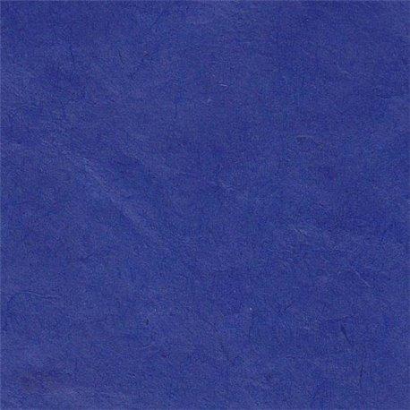 Papier népalais lokta lamaLi bleu
