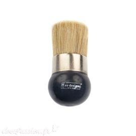 Pinceau pochoir Redesign poils 4.5x5cm manche court Prima Marketing