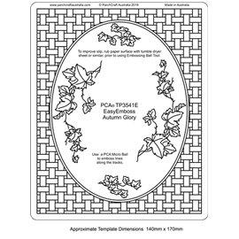 Template PCA gabarit traçage motifs vigne vierge