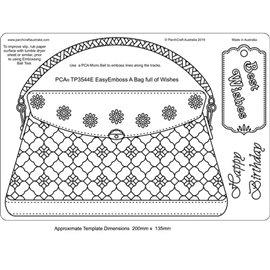 Template PCA gabarit traçage motifs sac