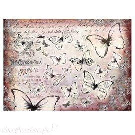 6 feuilles de papier de soie pour décoration Finnabair Prima