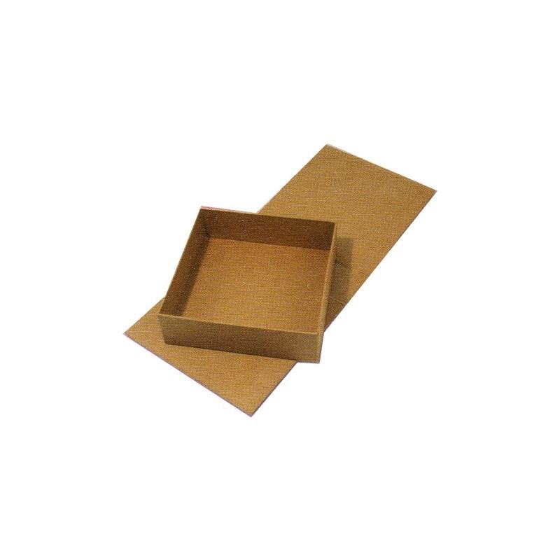loisirs cr atifs objet brut bo te carton carton carr e avec abattant. Black Bedroom Furniture Sets. Home Design Ideas