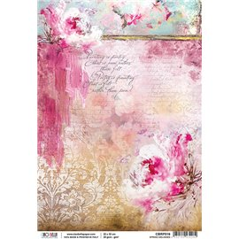 Papier de riz spring melody 22x32cm Ciao Bella