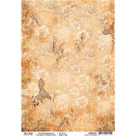 Papier de riz salotto parigino 22x32cm Ciao Bella