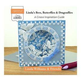 Livre Groovi Linda's Bees Butterflies and dragonflies